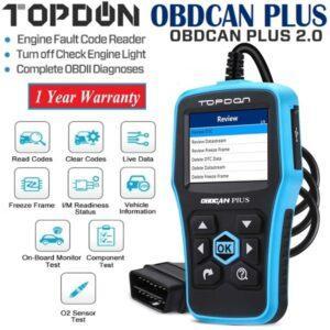 Topdon OBD Scanner Grafton Diagnostics Ireland