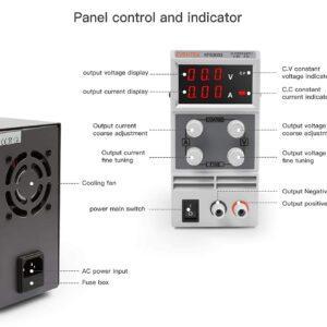 5 amp bench power supply Grafton Diagnostics